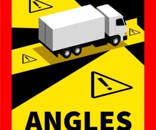 Adesivi salvavita per segnalare gli angoli ciechi dei camion!